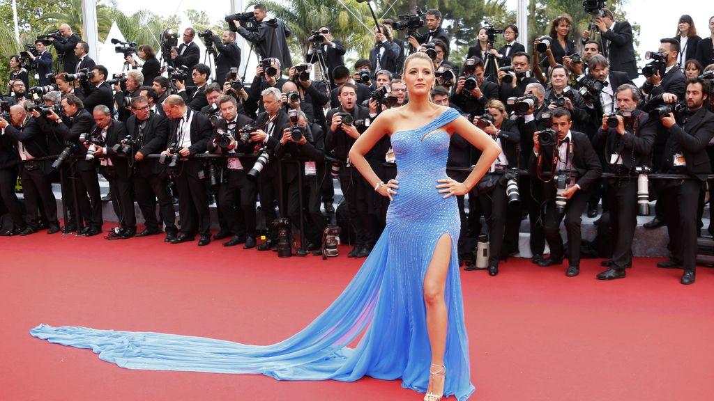 Blake Lively en el festival de Cannes