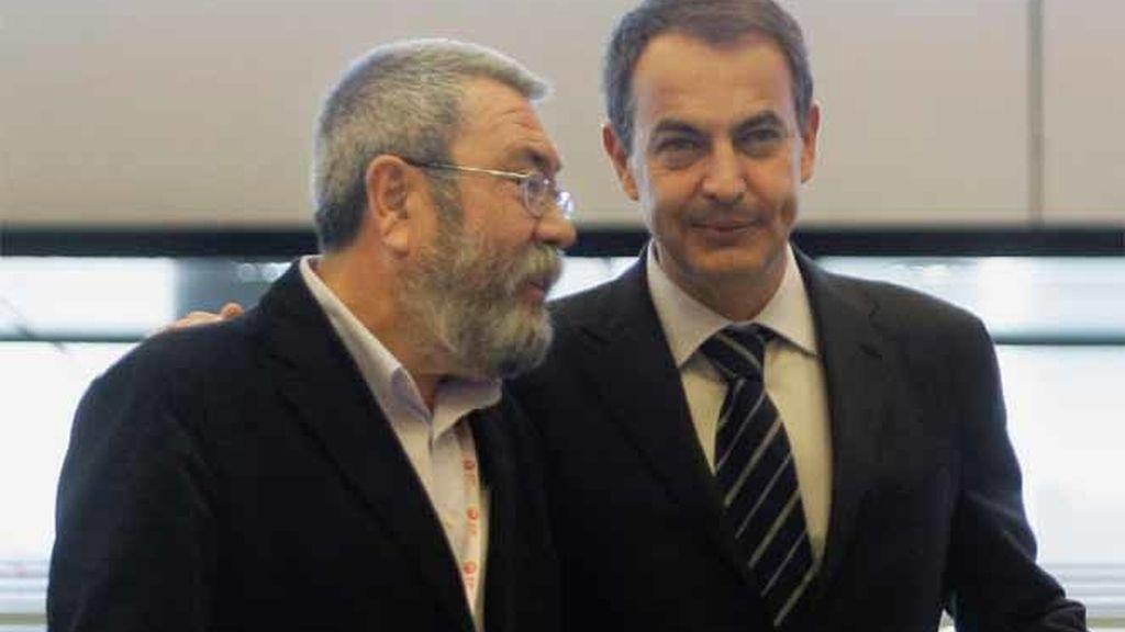 Zapatero y Méndez