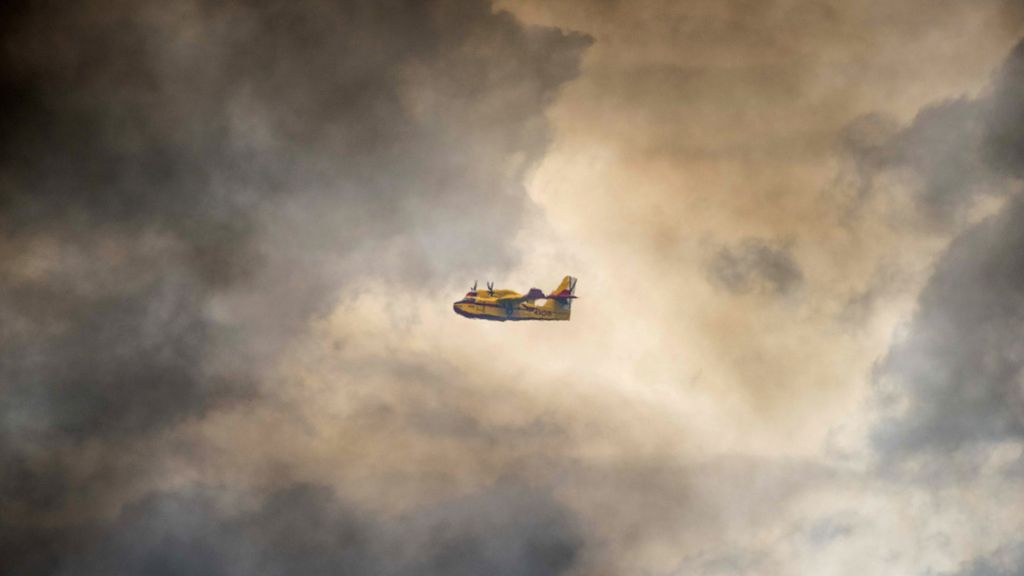 Avión de extinción de incendios