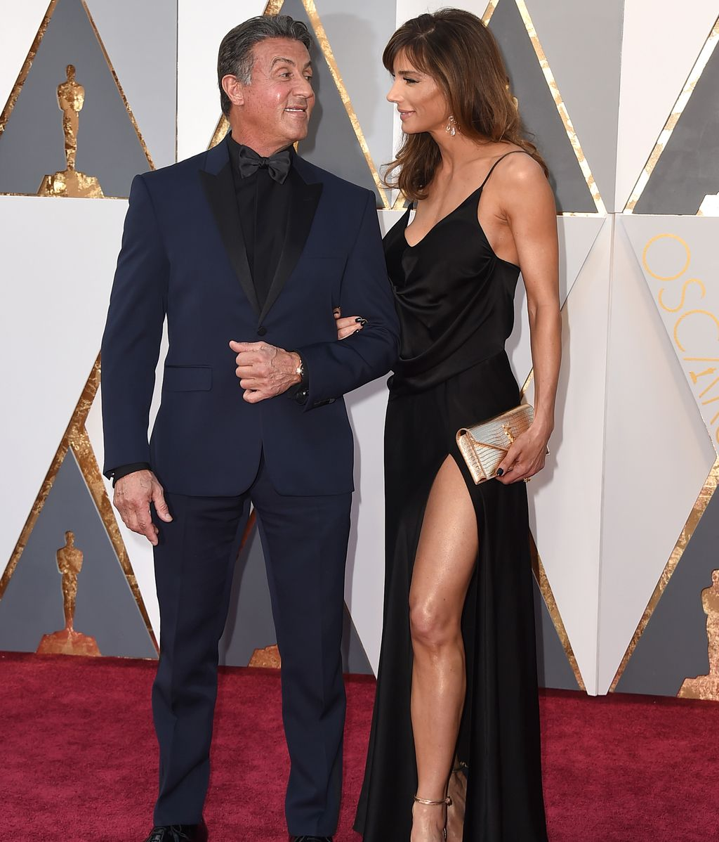 Sylvester Stallon y Jennifer Flavin