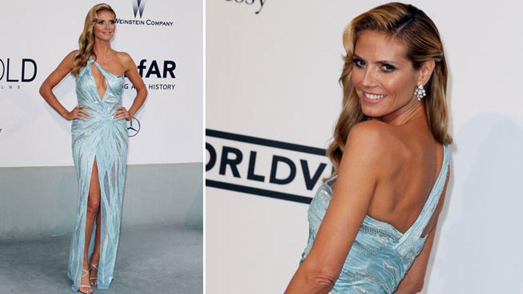 Heidi Klum llevó un Versace