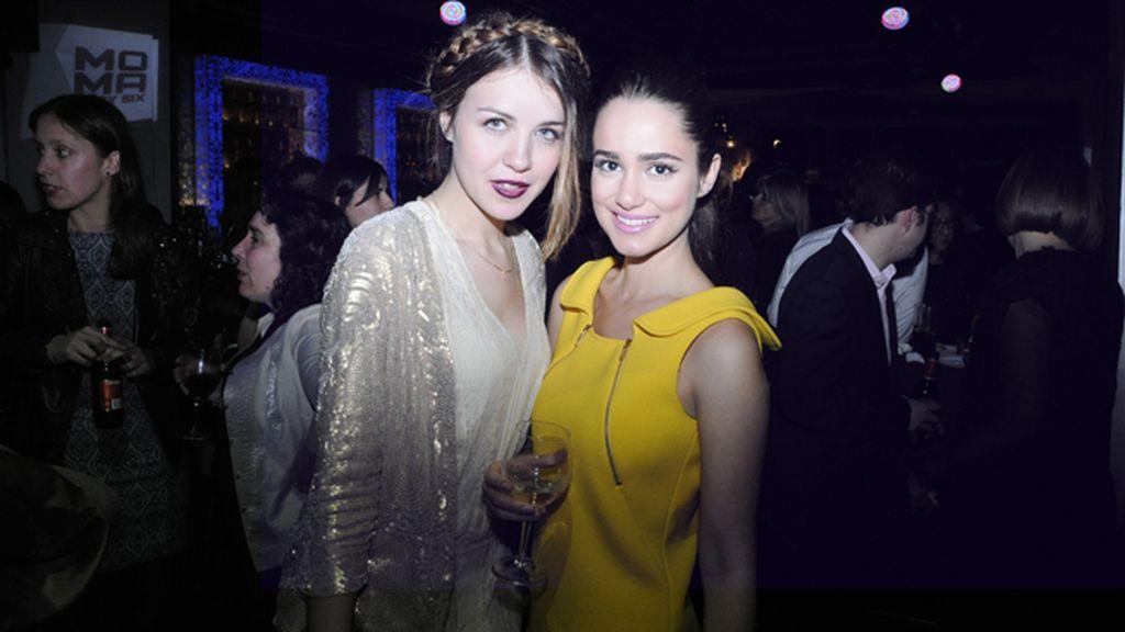 Andrea Guasch y Alicia Sanz