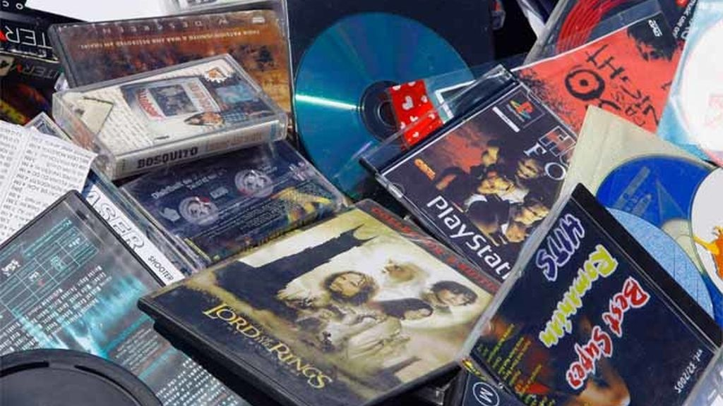 Compact Disc 'pirateados'
