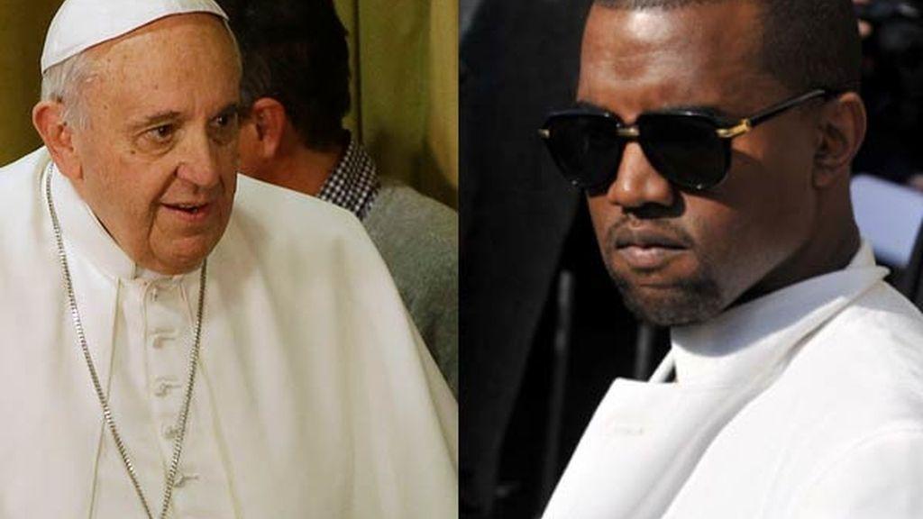 El Papa Francisco y Kayne West, en la lista de las personalidades más populares en el mundo