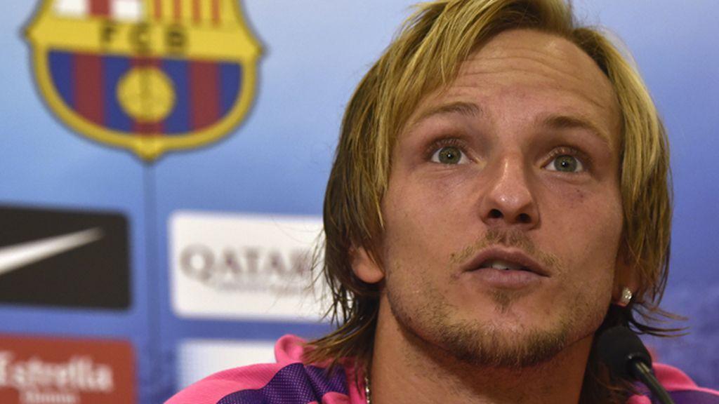 """Rakitic: """"Hablar de la calidad de Messi me parece de vergüenza"""""""