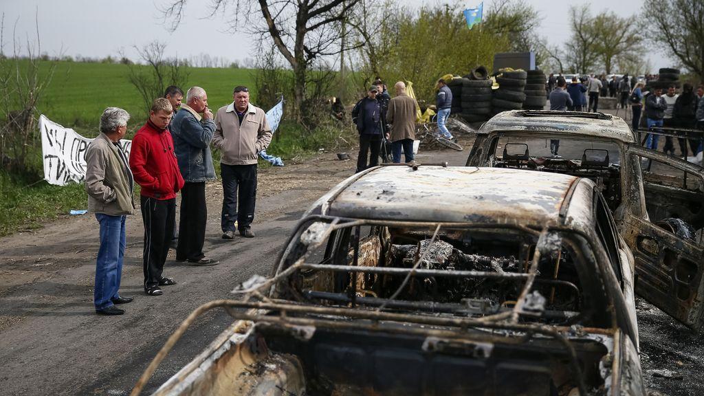 """Rusia critica el """"indignante"""" tiroteo de Slaviansk que """"muestra la poca voluntad de Kiev"""""""