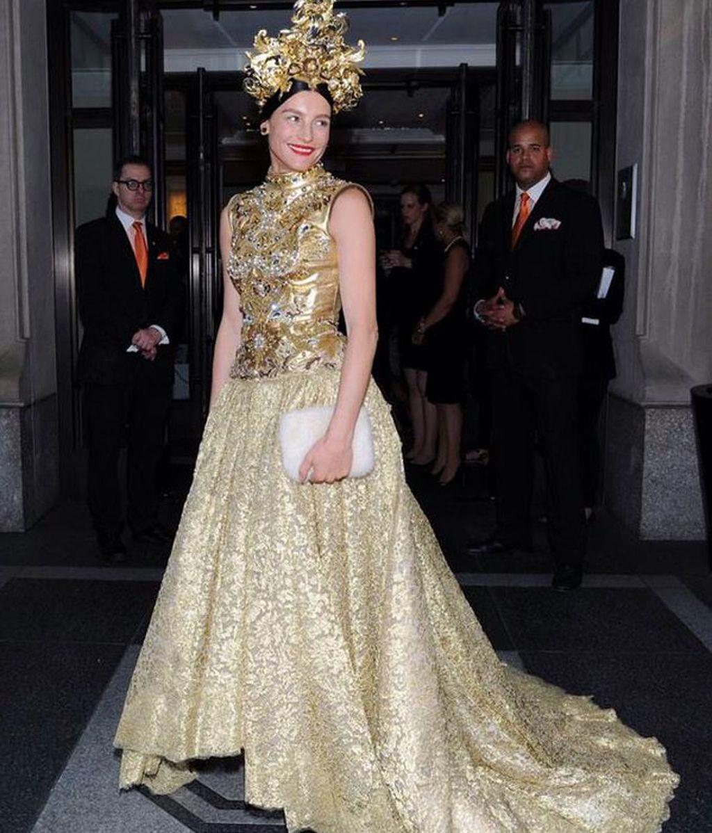 La diseñadora de zapatos Tabitha Simons de Dolce & Gabbana