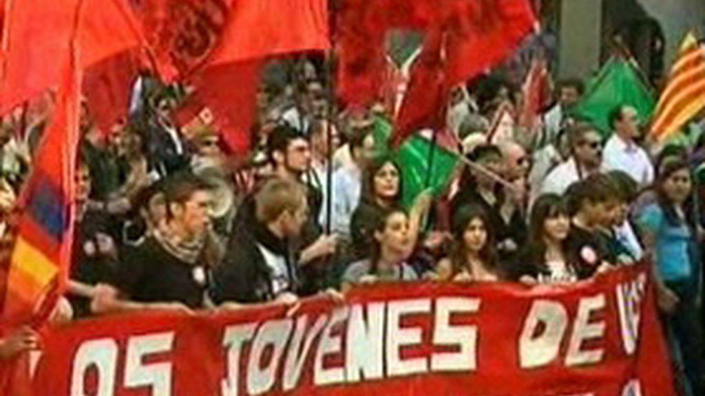 Los trabajadores de Figueruelas salen a la calle