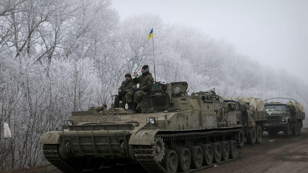 Kiev denuncia que los prorrusos continúan con los bombardeos en Debaltseve