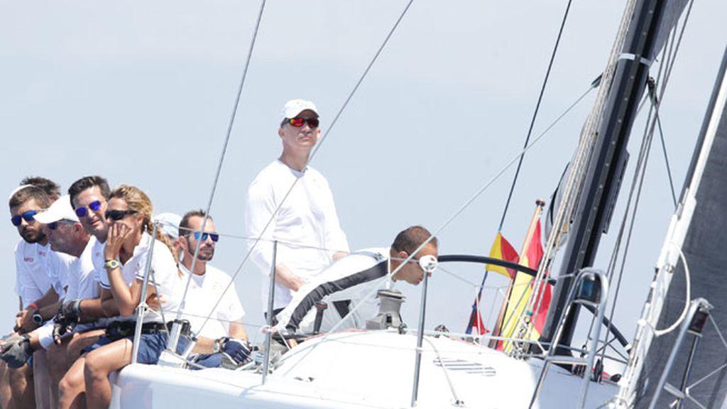 El rey Felipe VI en el Club Náutico de la Palma