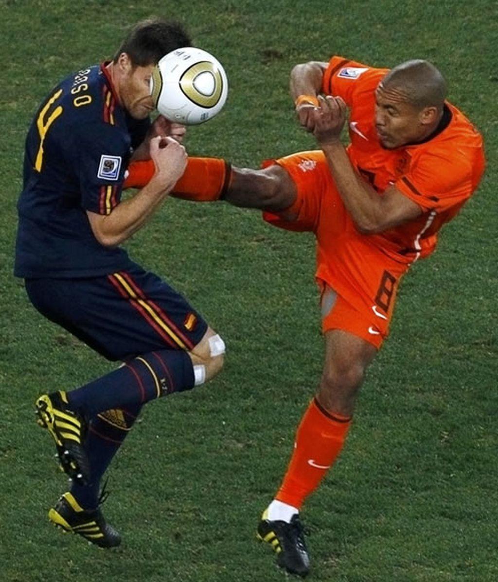 De Jong, expulsado de Holanda