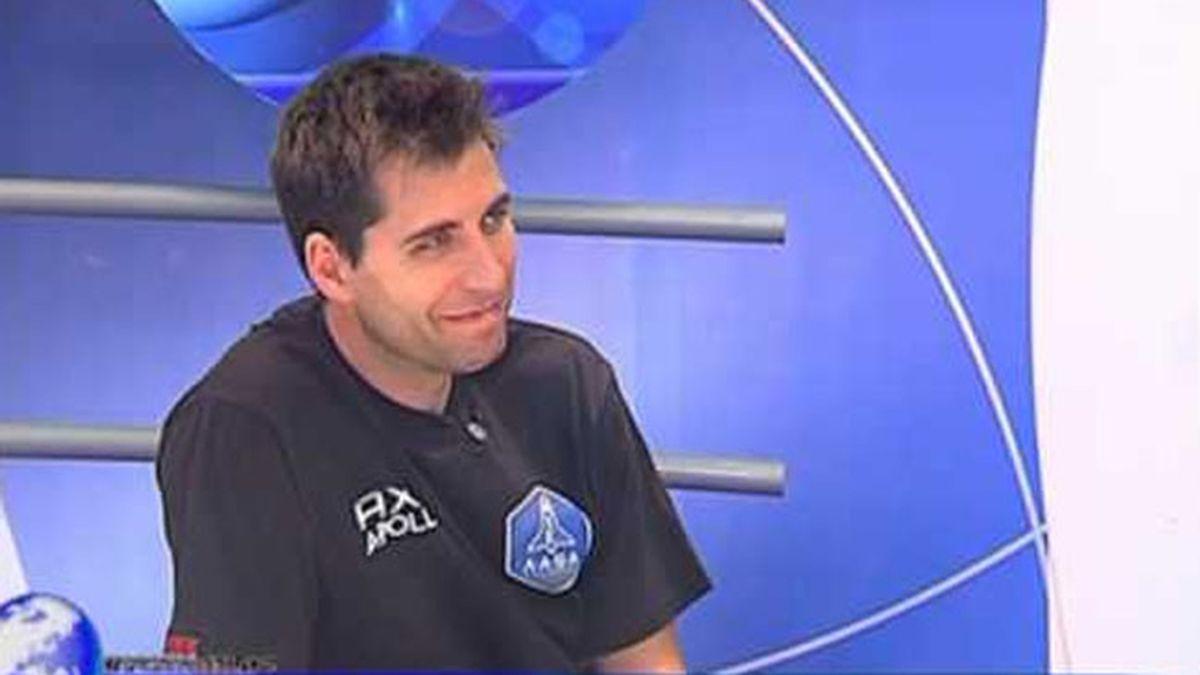El español Eduardo Lurueña, elegido para viajar al espacio con 'Axe Apollo'