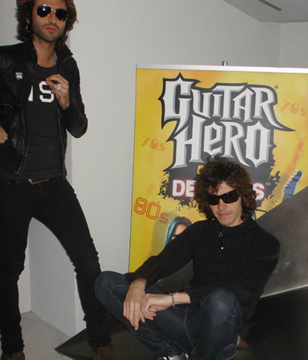 Pereza es el único grupo español que tiene uno de sus temas en la nueva versión del Guitar Hero. Foto: Beatriz Quintero