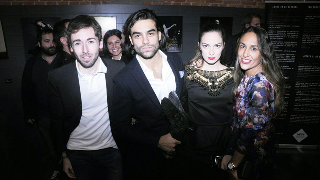 Daniel Rabaneda, Diego Osorio, Cecilia Quintana y Ana Osorio