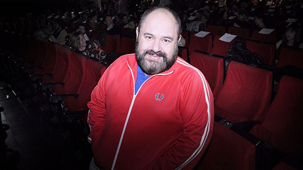 El actor Jorge Calvo tampoco se perdió el estreno de esta esperada película