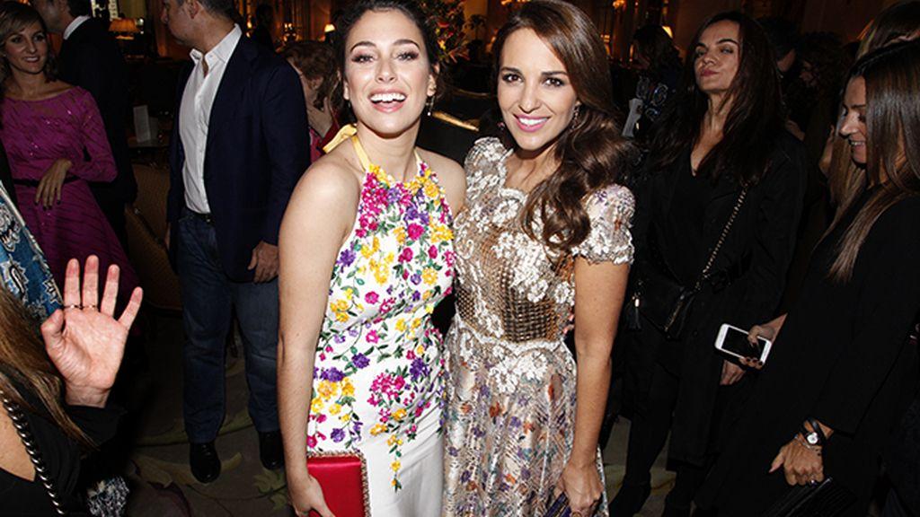 Dos divas para los premios Cosmopolitan: Blanca Suárez y Paula Echevarría