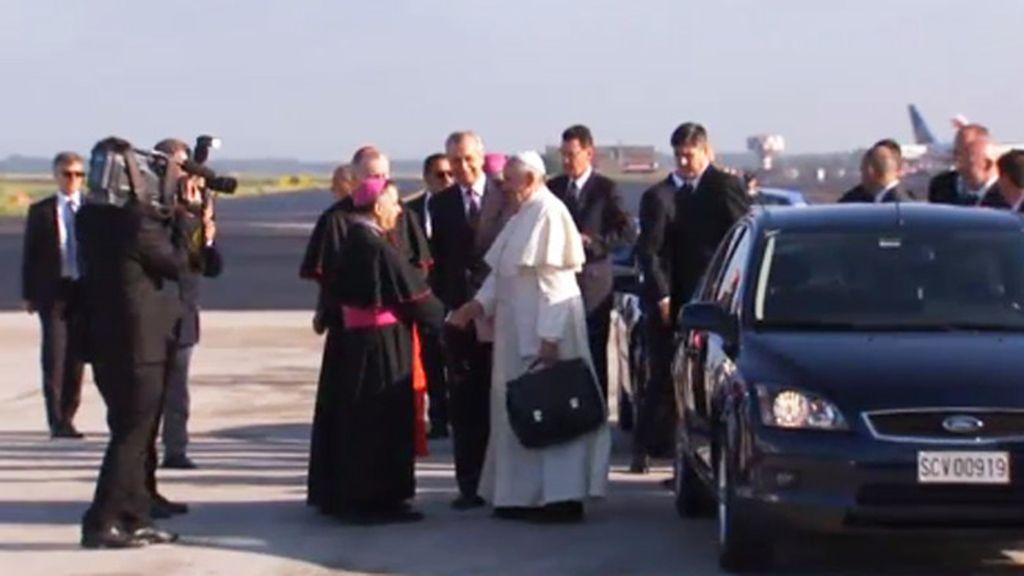 El Papa Francisco llega a Jordania para iniciar su viaje a Tierra Santa
