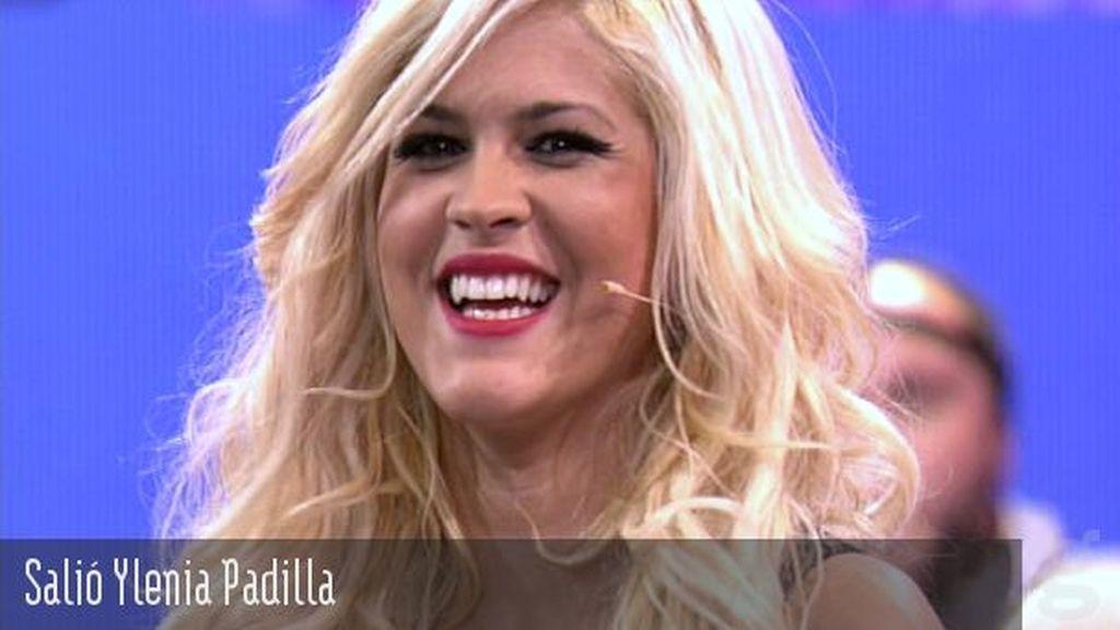 Salió Ylenia Padilla