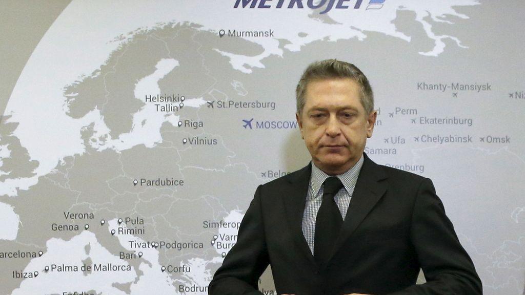 El subdirector general de la compañía rusa Kogalymavia del avión siniestrado en el Sinaí, Alexander Smirnov