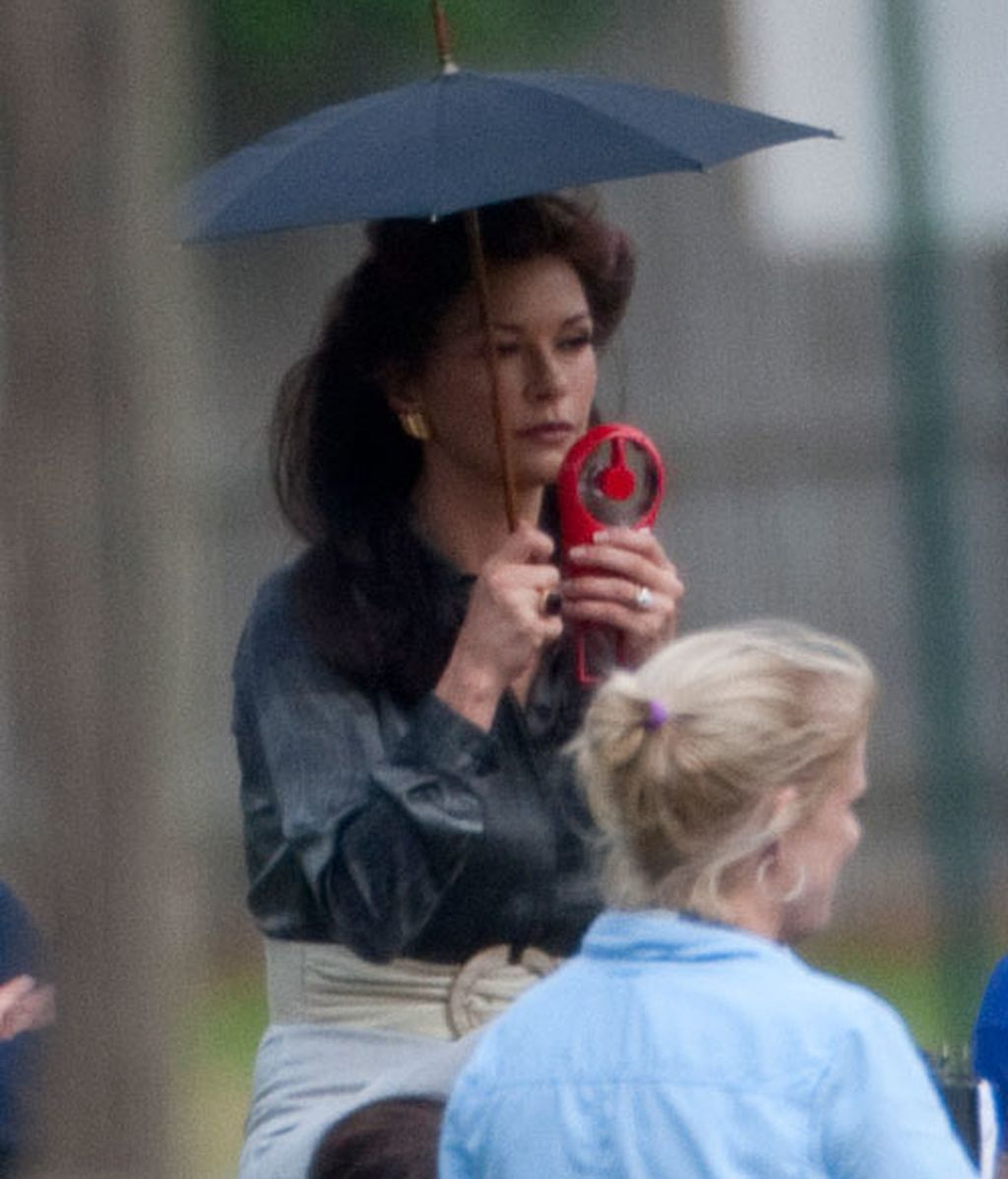 Catherine Zeta-Jones vuelve al trabajo