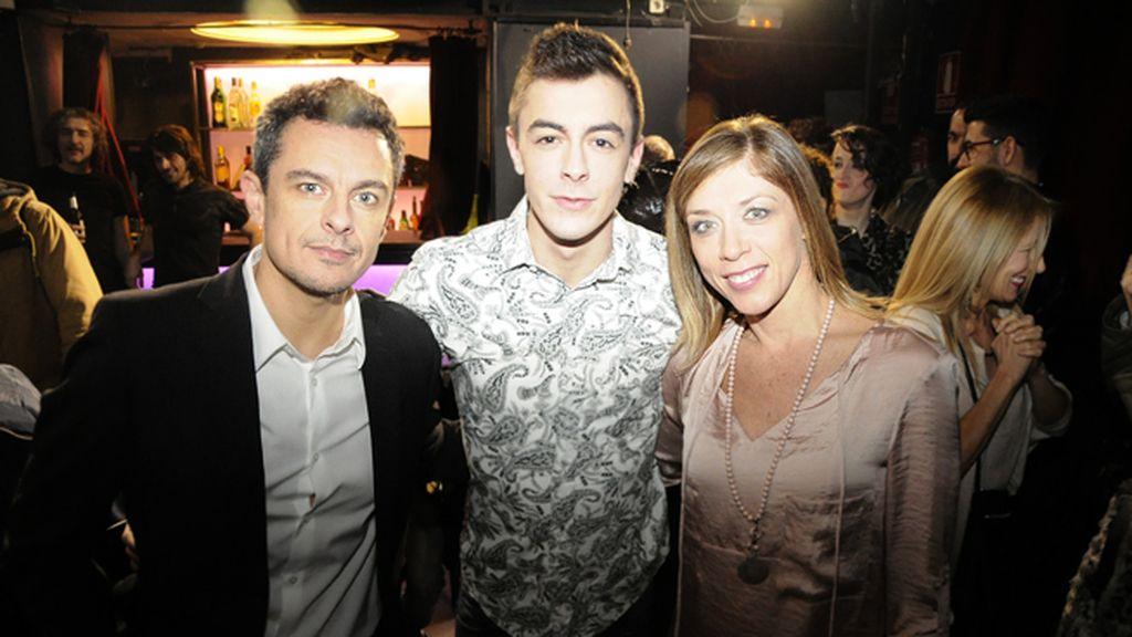 Mauricio Bautista, Víctor Palmero y Eva Isanta, protagonistas de 'Atrapados'