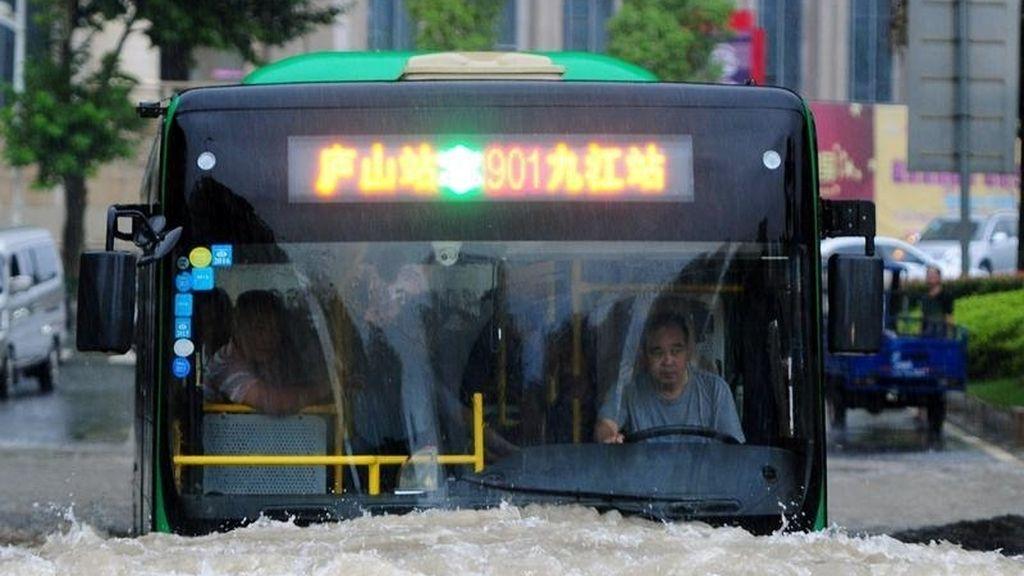 Fortísimas inundaciones en China