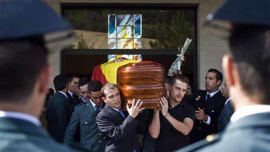 Homenaje a los guardias civiles asesinados por ETA