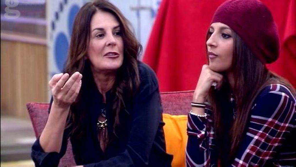 Ángela y Aguasantas