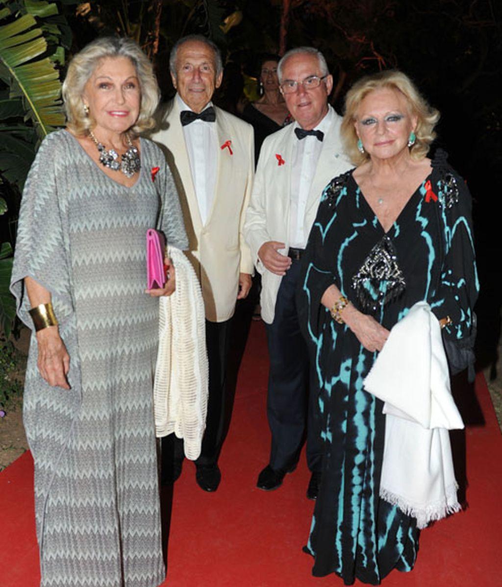 La princesa Beatriz de Orleans acudió con unos amigos