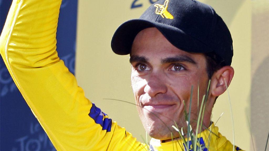 Alberto Contador, gana el Tour de Francia 2009