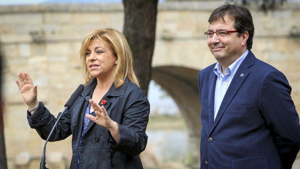Elena Valenciano y Guillermo Fernández Vara