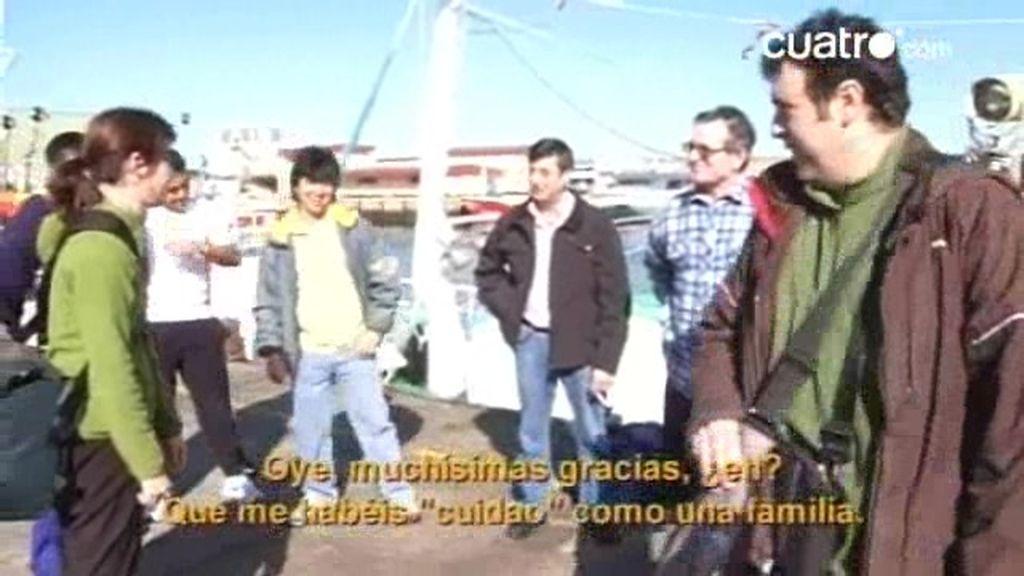 21 días trabajando en el mar: La venta del pescado