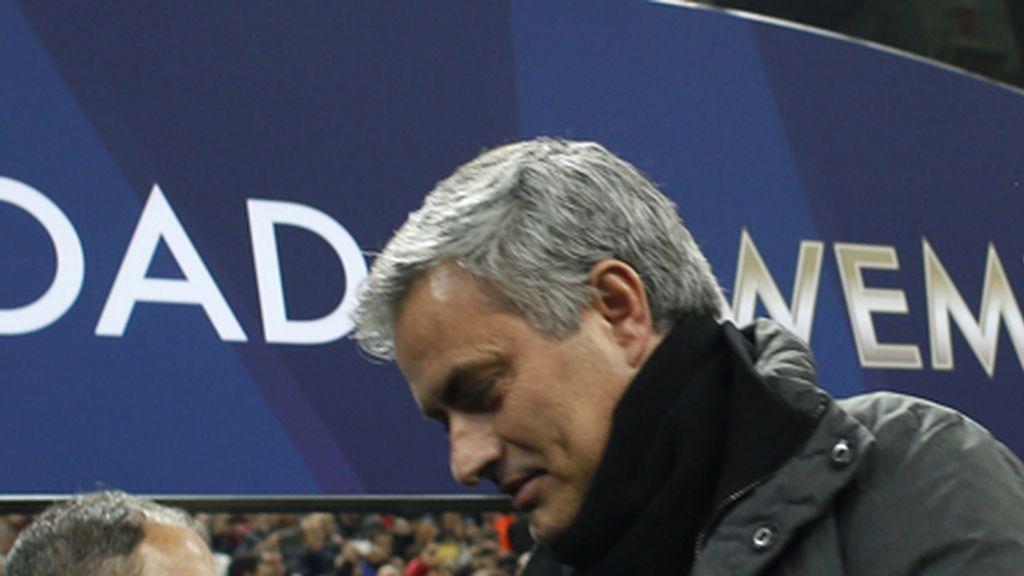 José Mounrinho, entrenador del Real Madrid