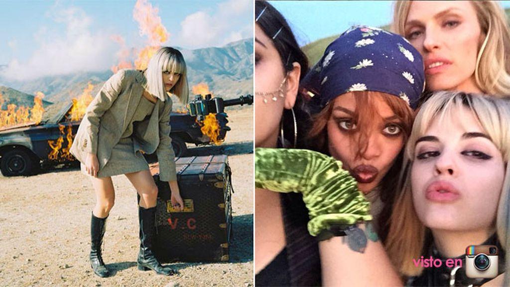 Rihanna encontró a Sita por Instagram y tuvo claro que quería trabajar con ella