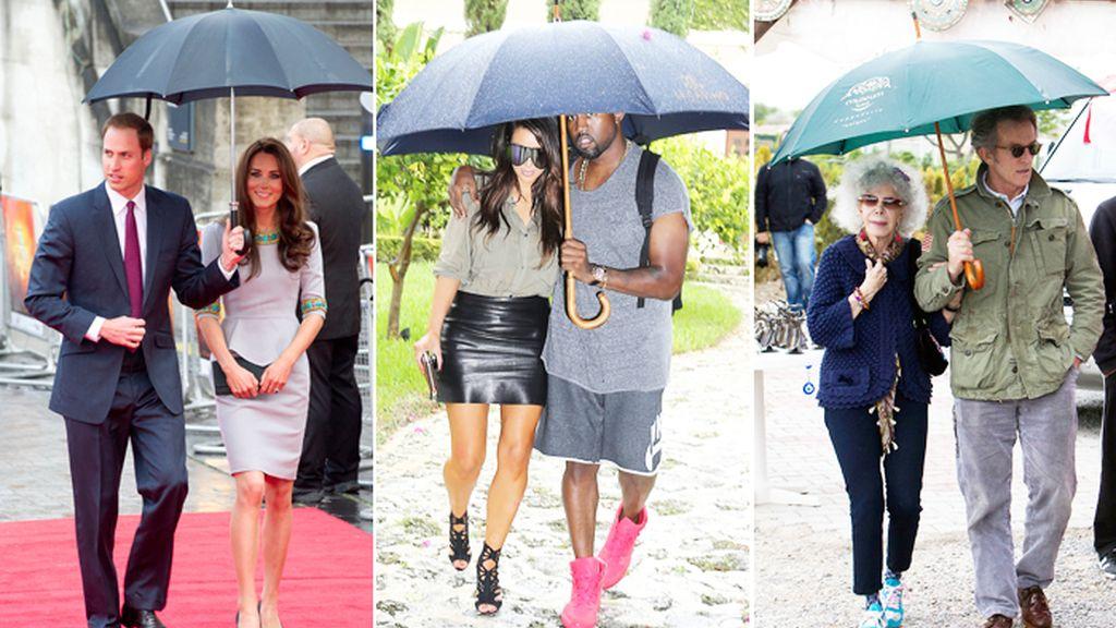 paraguas o chubasquero