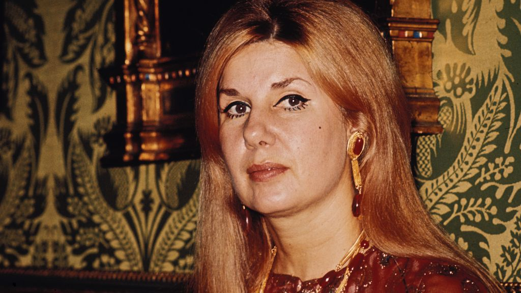 La duquesa de Alba, en imagen de 1960
