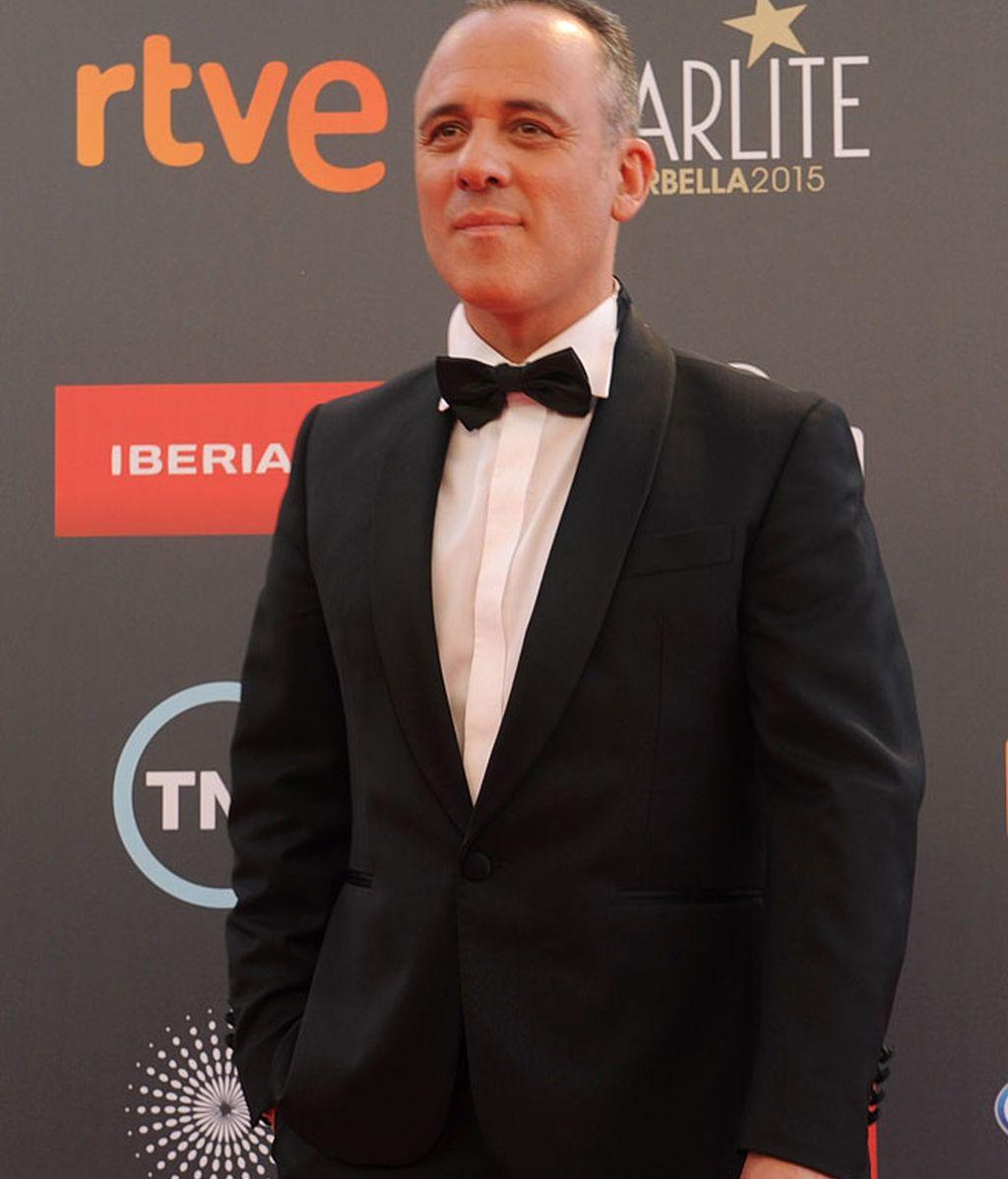 Javier Gutiérrez también estuvo en la gala
