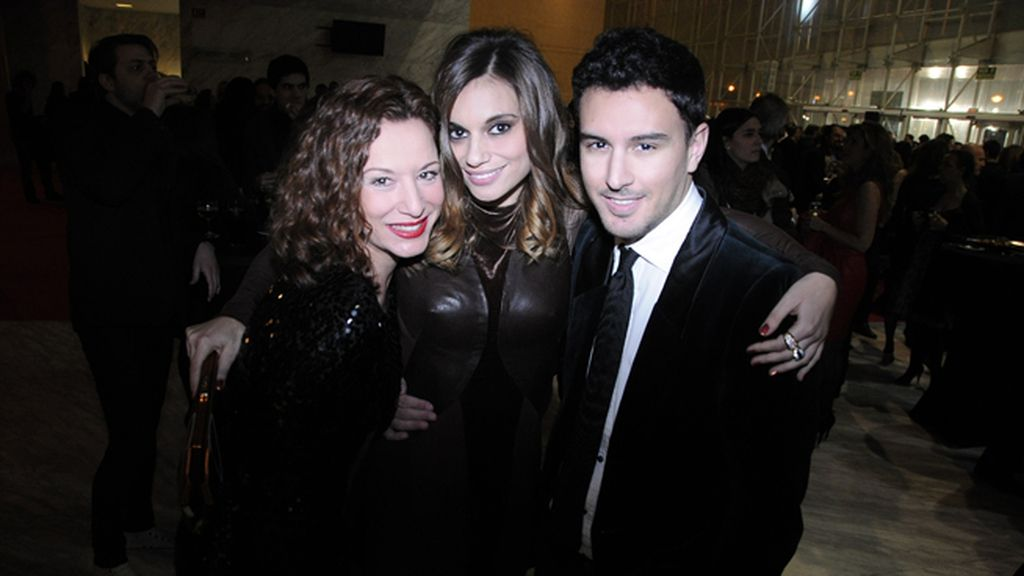 Eva Almaya, Norma Ruiz y el estilista Victor Blanco