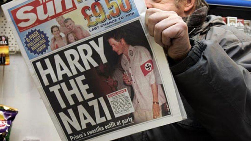 Príncipe Harry escándalos