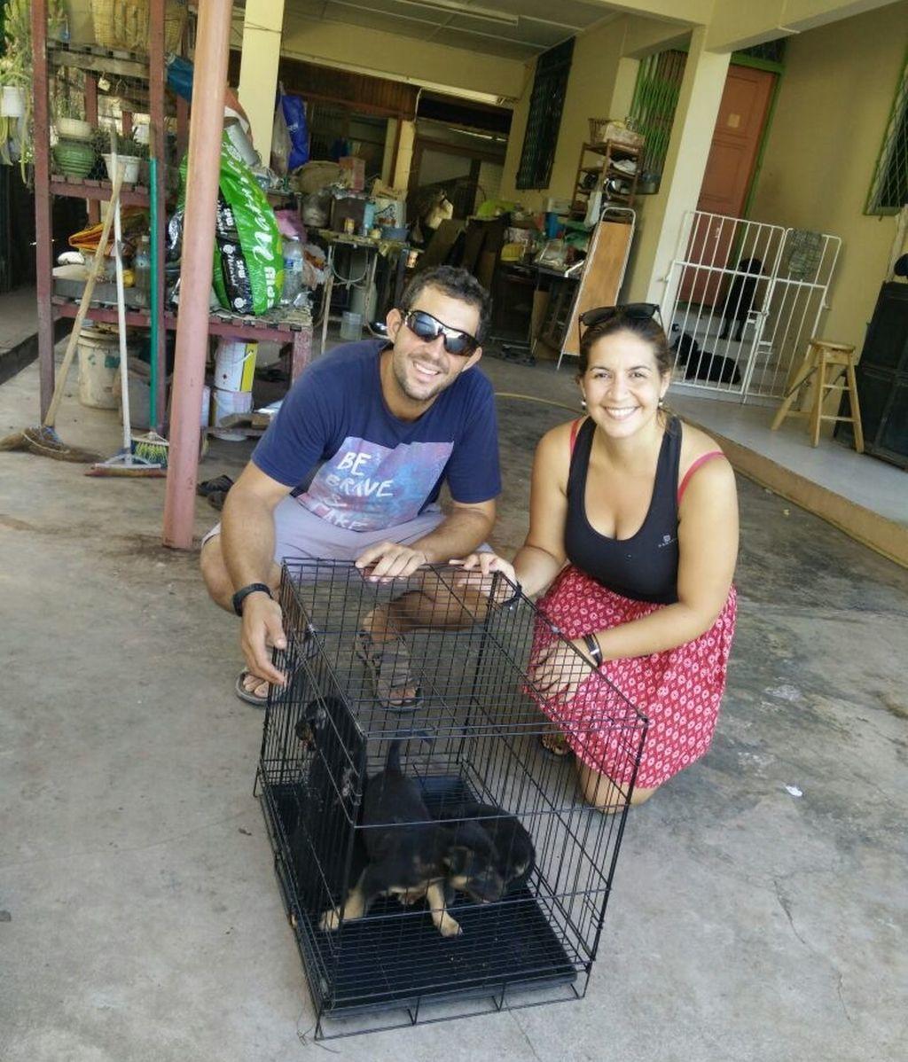 David Hernández y Marta Miguel,desaparecidos Malasia