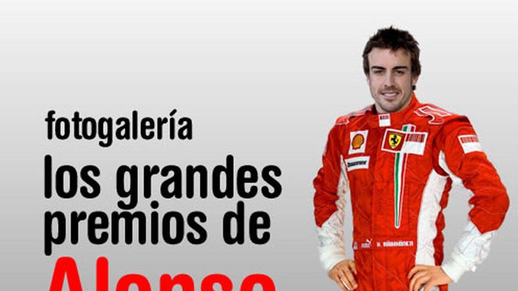 Los Grandes Premios de Alonso