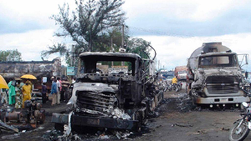 Camión explota en Nigeria