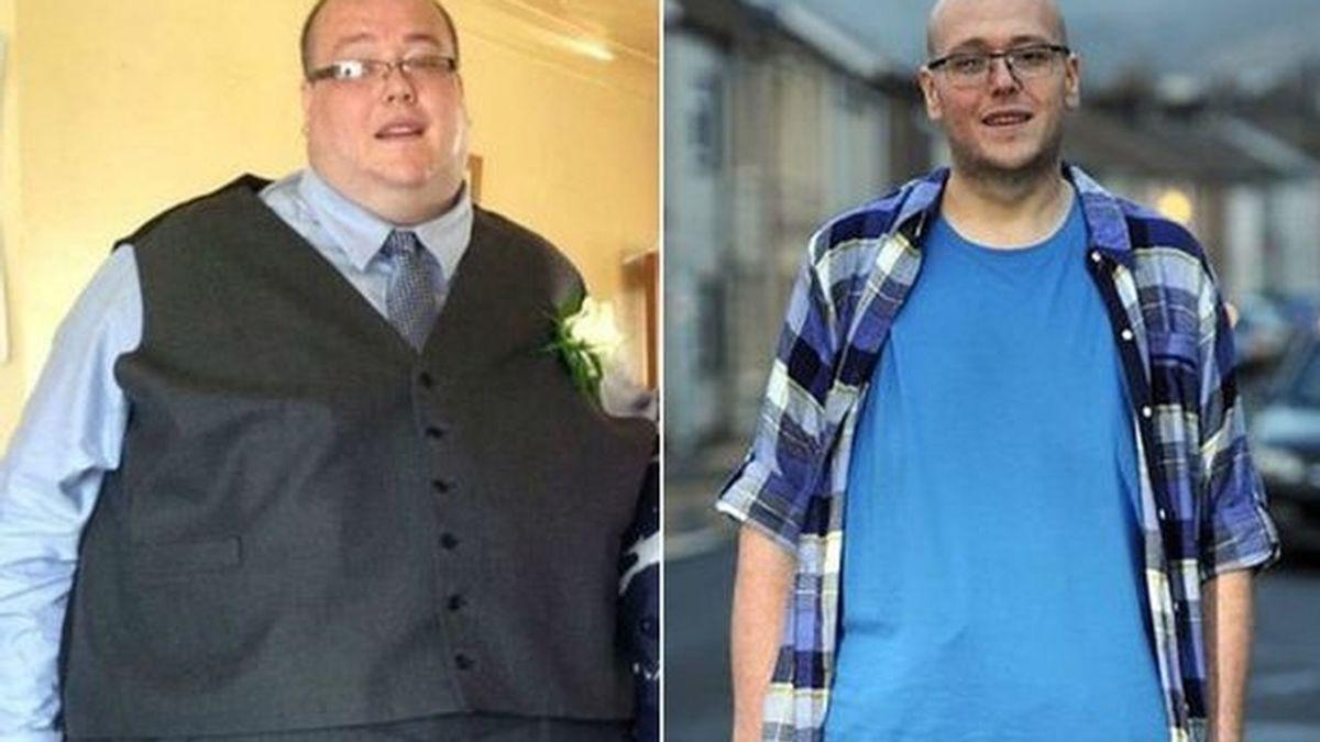 El hombre que ha perdido 127 kilos