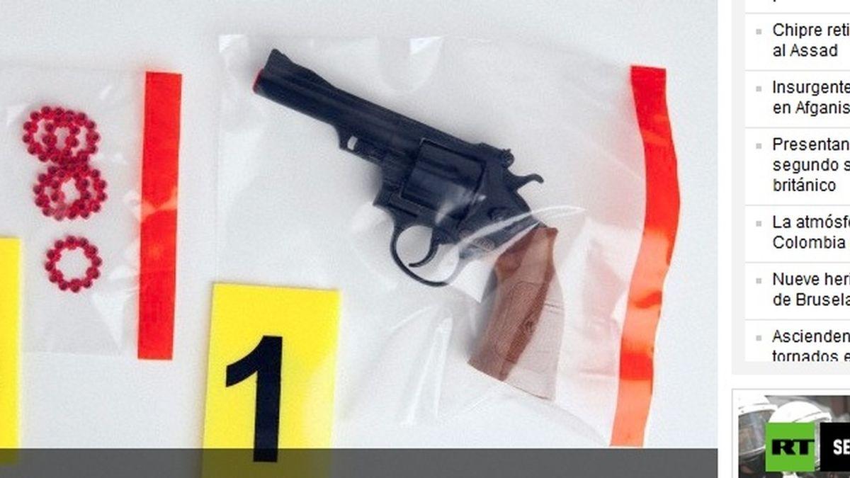 Un niño de cinco años, interrogado y expulsado del colegio por llevar una pistola de juguete