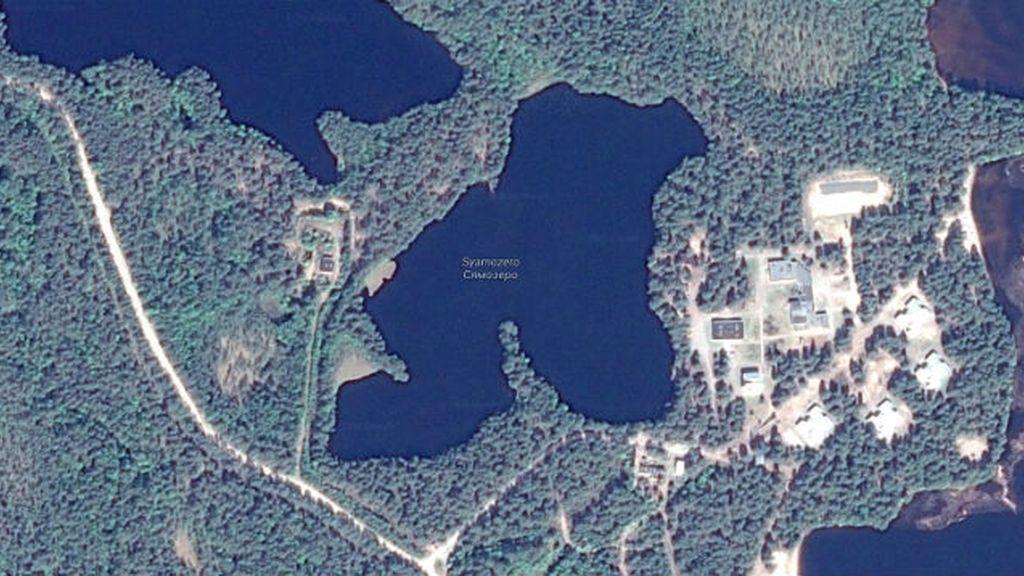 lago Syamozero, Rusia