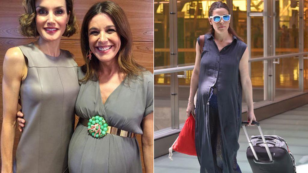 Raquel Sánchez Silva, gemelos para otoño a sus 42 años