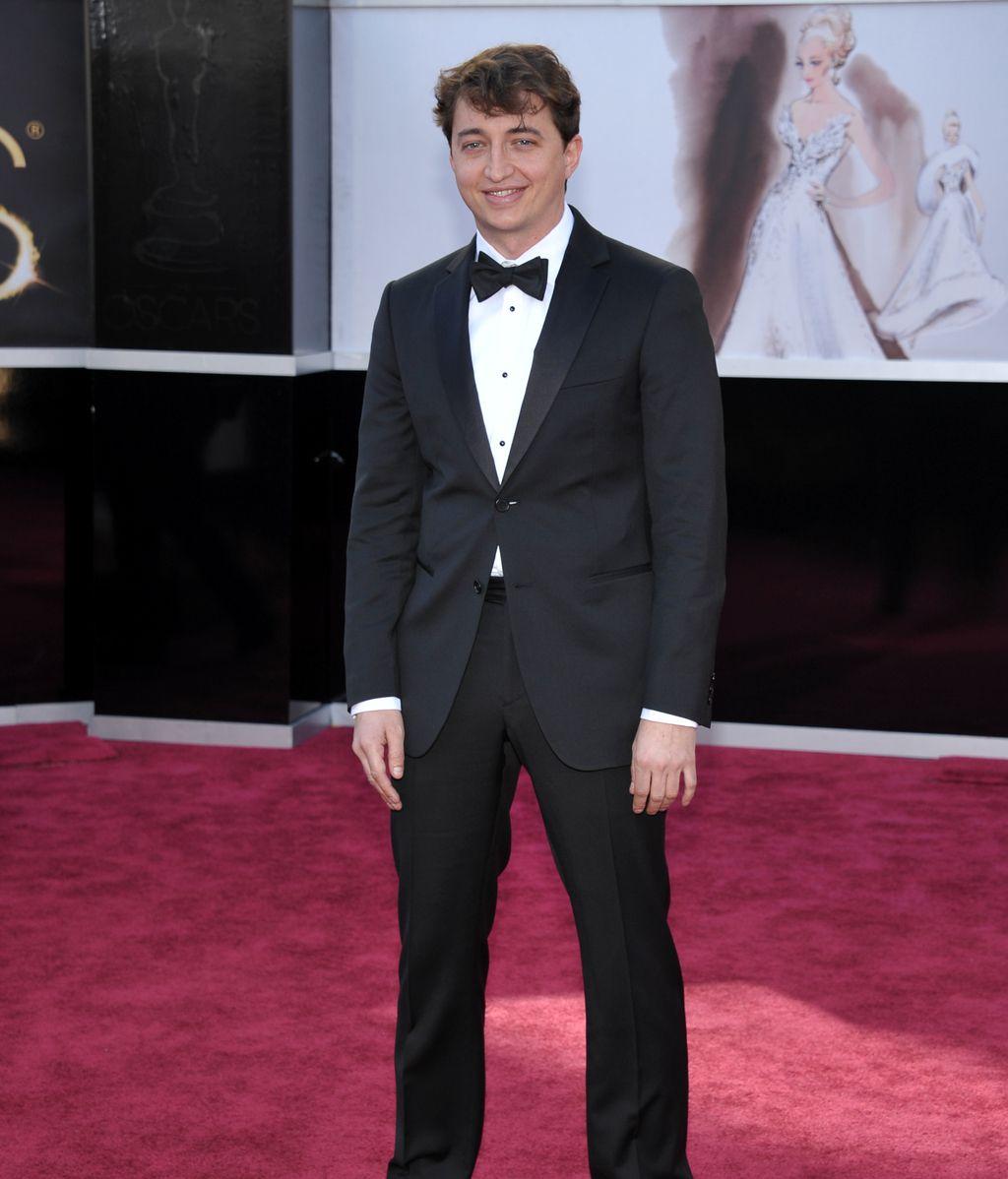 El director Benh Zeitlin, en la gala de los Oscar 2013