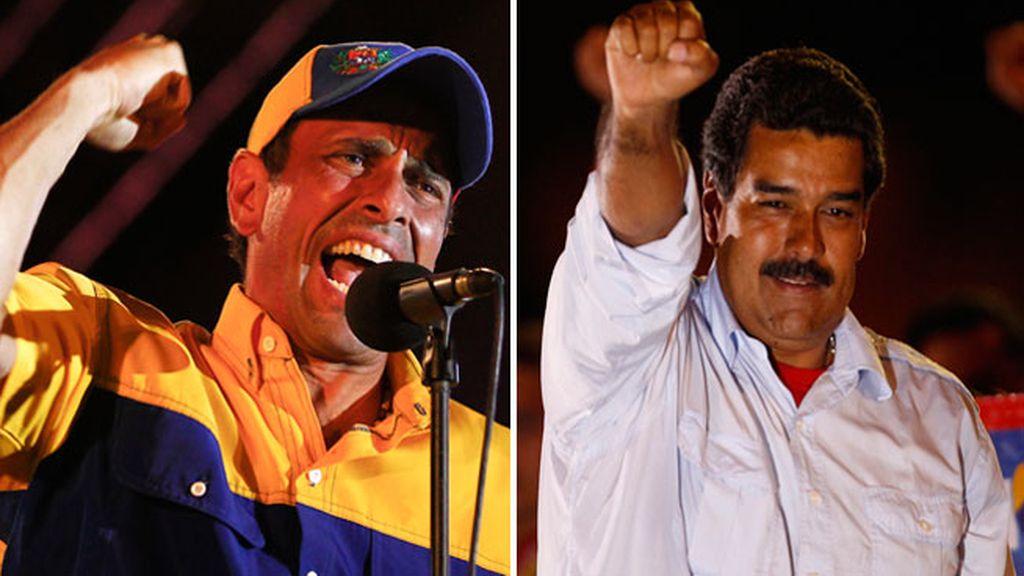 Capriles y Maduro cierran la campaña electoral