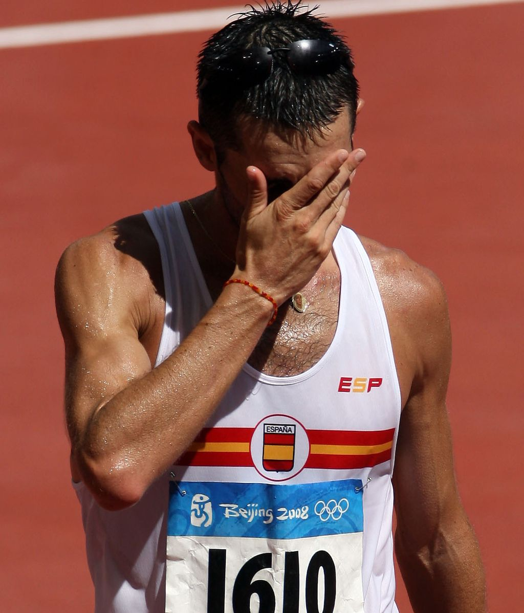 Paquillo Fernández se queda sin medalla en marcha corta