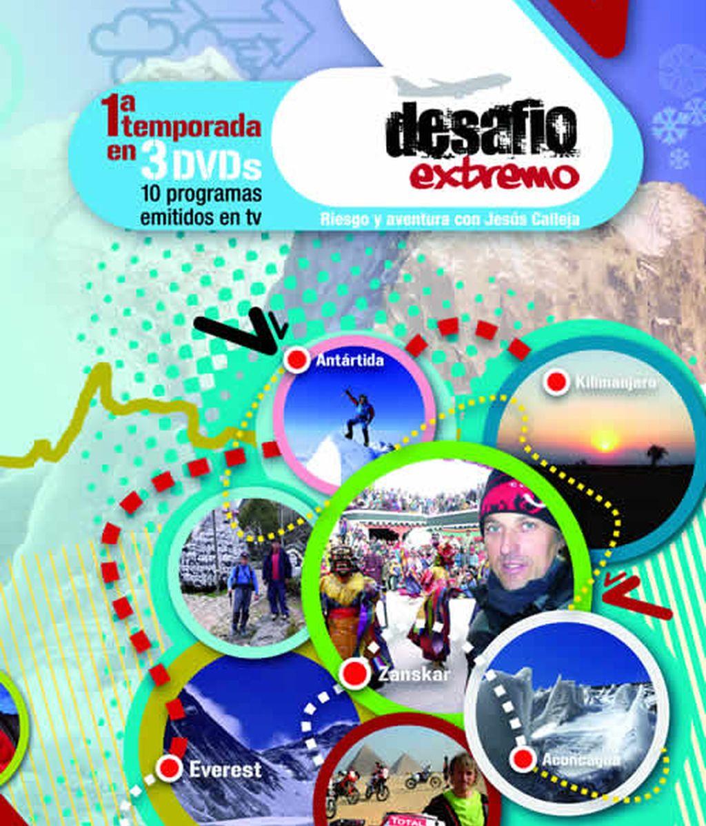 Pack DVD's 1ª temporada de Desafío Extremo